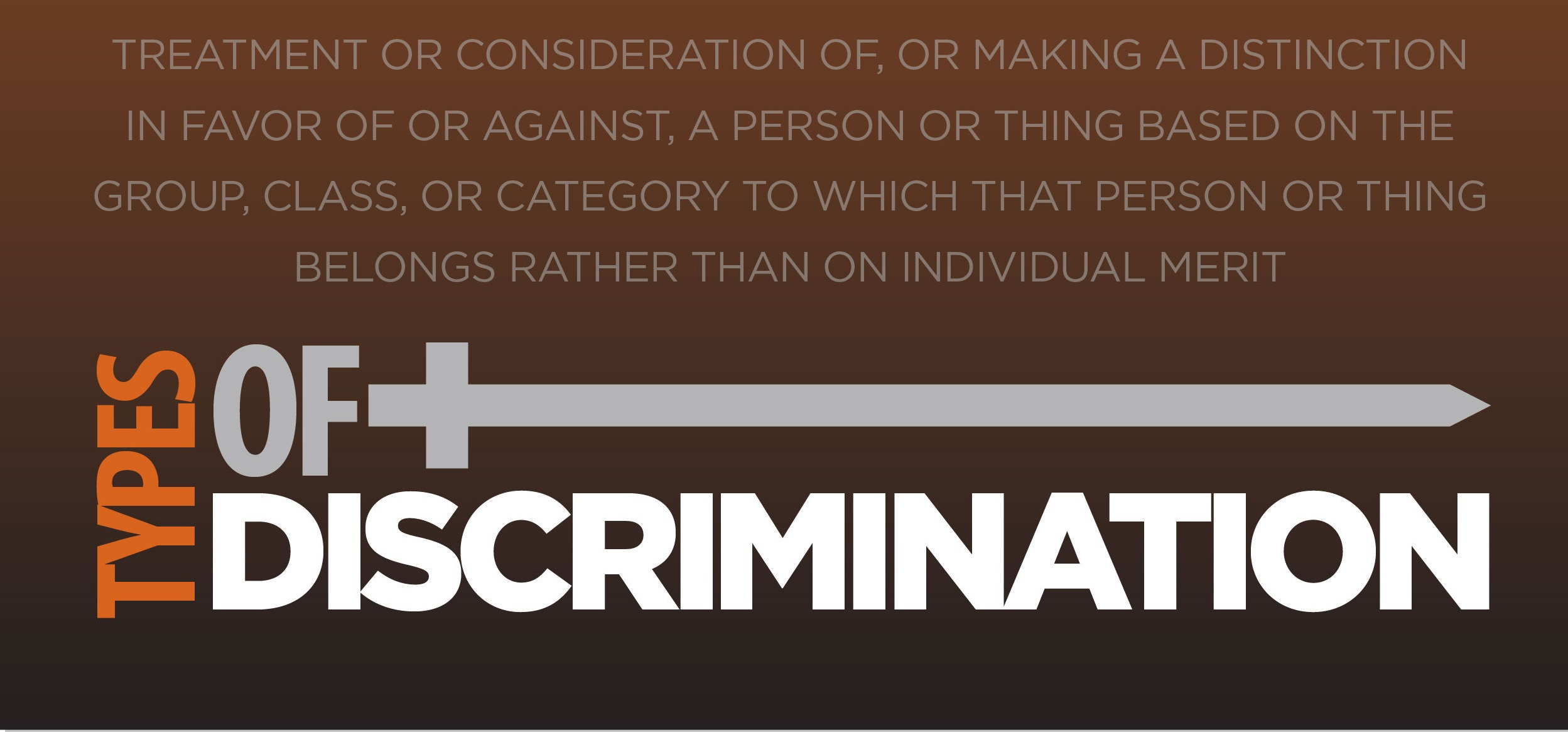 what is discrimination Anti discrimination act, laws and legislation, harassment policy.